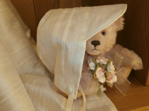 The Francis boys christening bonnet.