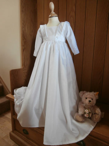 The Darcy convertible christening gown/romper.
