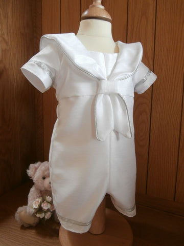 e8d16e8cc The Horatio sailor style boys christening outfit. – First Blessings ...