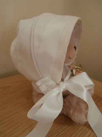 The Vienna christening bonnet