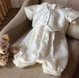 The Charles Christening Gown/Romper Suit.