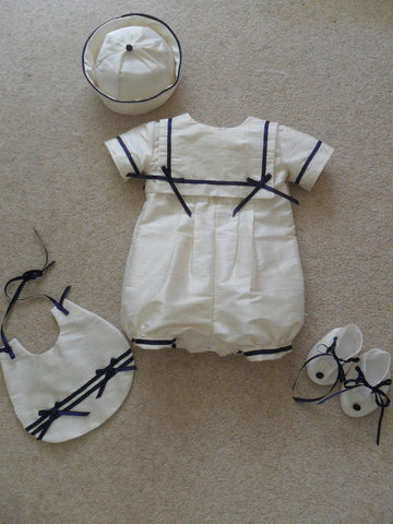 The William christening outfit set.