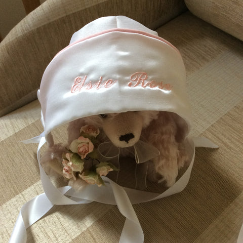 The Vienna Unisex Personalised bonnet