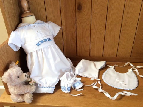 The Thomas complete christening set