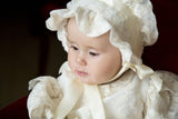Windsor Lace Christening Bonnet