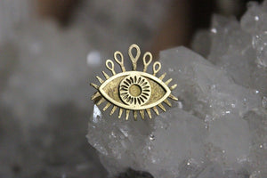 3rd Eye Ring - Golden Treasure Box