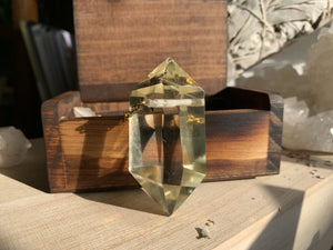 Divination - Hand Stained Wooden Ring and Jewelry Box Set - We Love Brass