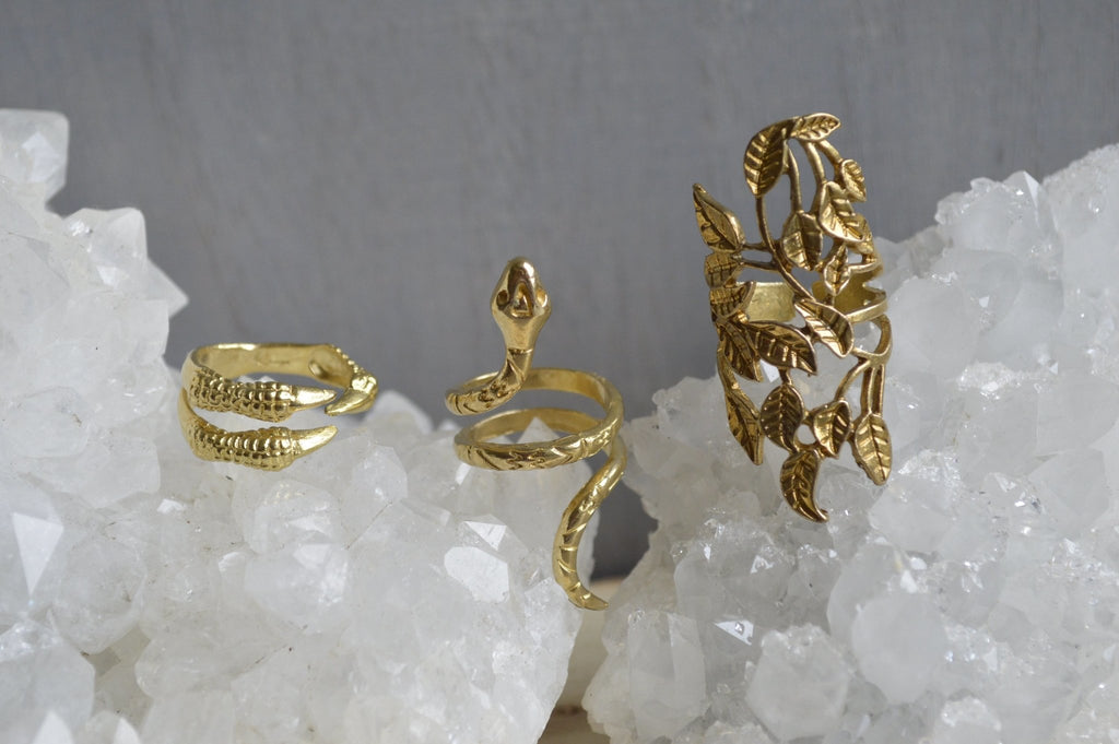Eve's Brass Ring Set - We Love Brass