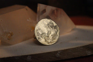 Full Moon Ring - Brass - We Love Brass