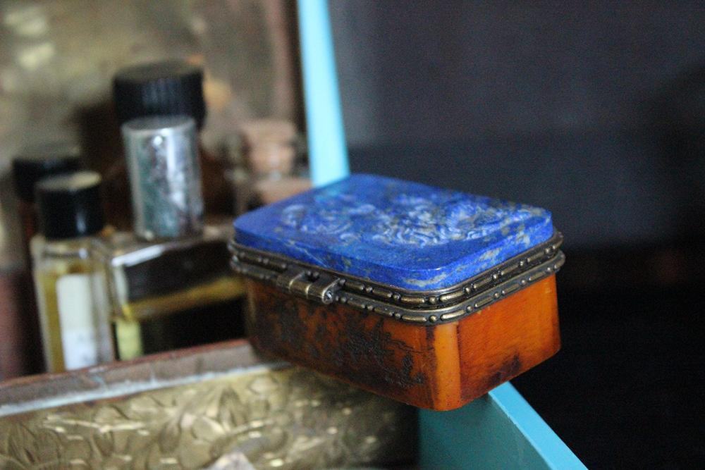 Lapis Treasure Box - Golden Treasure Box
