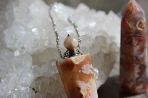 Orange Blossom Crystal Bottle - We Love Brass