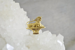 She-Sphinx Brass Ring - We Love Brass