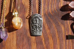 The Ancient Hieroglyphs Necklace - We Love Brass