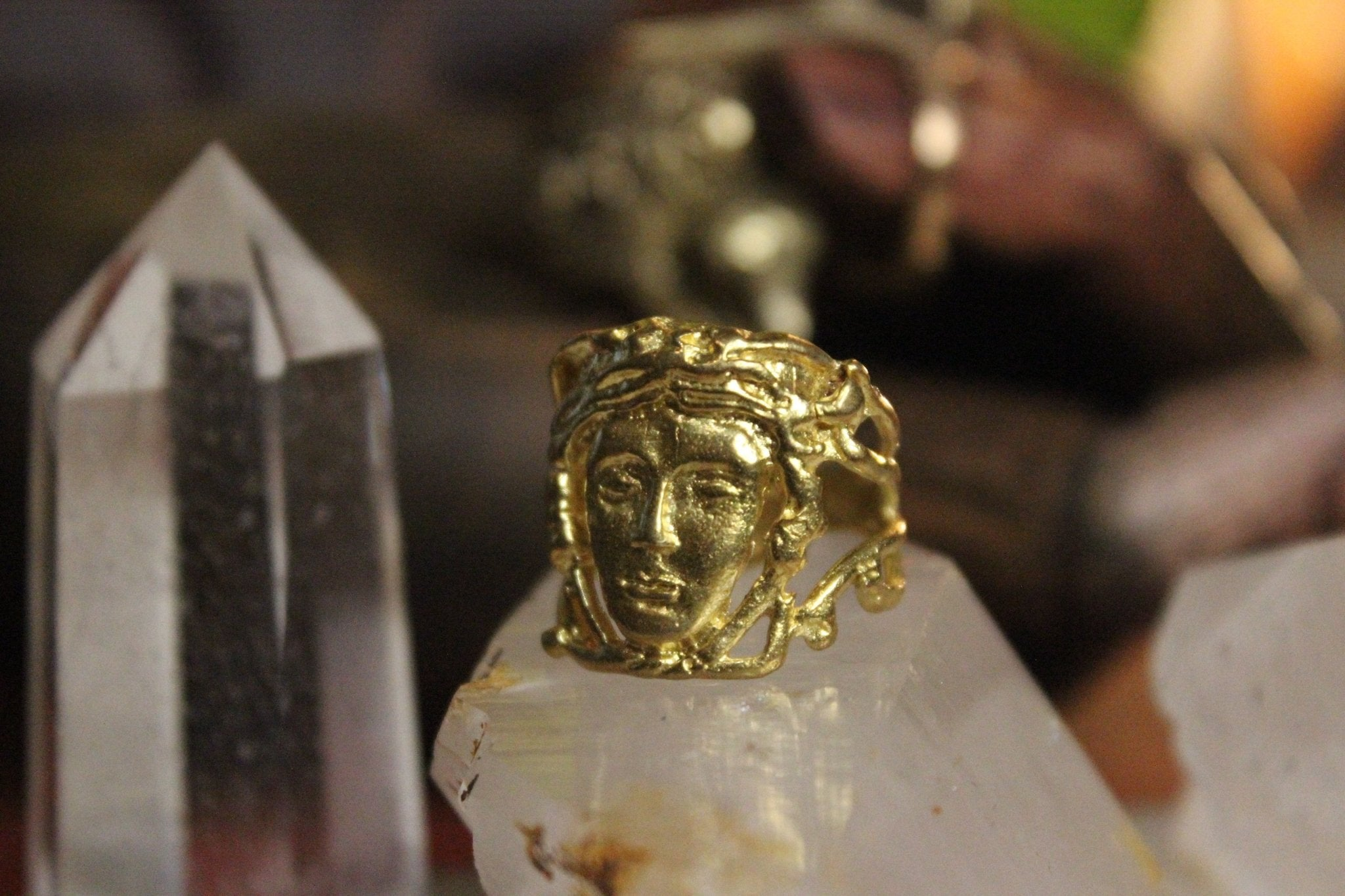 The Crone Ring - Brass - We Love Brass