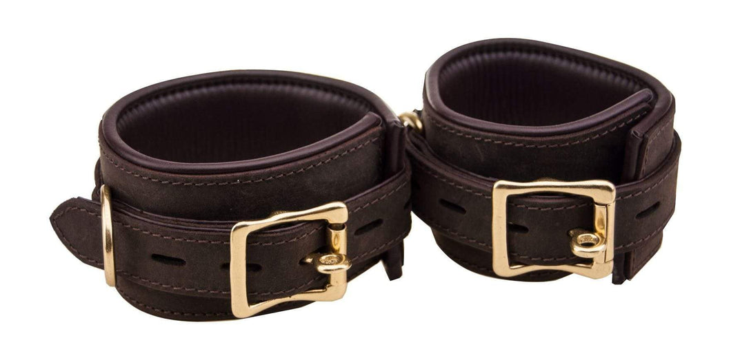 Bound Restraints Bound Nubuck Erotic Leather Wrist Restraints