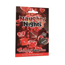 Load image into Gallery viewer, CC Dice Games Naughty Nights - Raunchy Dare Dice