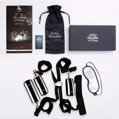Fifty Shades of Grey Restraints Fifty Shades of Grey Hard Limits Bed Restraint Kit
