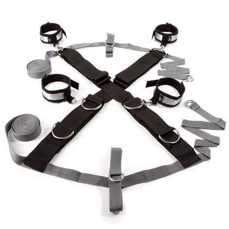 Fifty Shades of Grey Restraints Fifty Shades of Grey Keep Still Over the Bed Cross Restraint in Silver