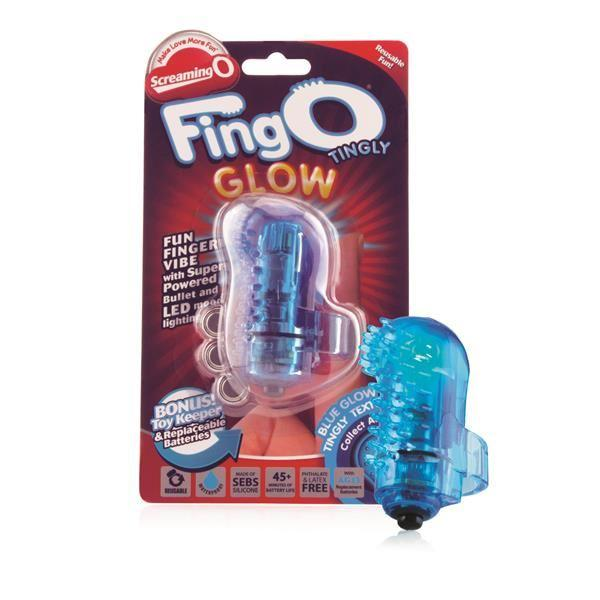 Screaming O Bullets Screaming O FingO Finger Vibrator Massager's Glow Tingly