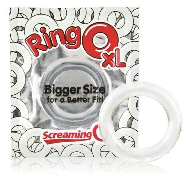 Screaming O - Ringo inc Rangler Cock Rings Screaming O RingO XL Cock Ring Clear