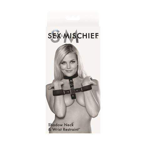 Sex & Mischief Restraints S&M Shadow Neck & Wrist Restraint