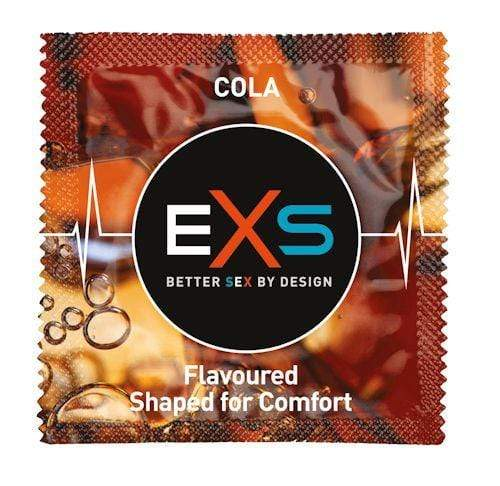 Spanksy Clearance EXS Condoms Cola Flavour x 12