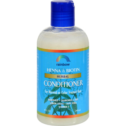 Rainbow Research Herbal Conditioner Henna And Biotin - 8 Fl Oz - Humble + Lavi