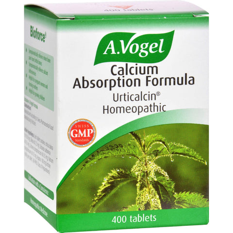 A Vogel Calcium Absorption Formula - 400 Tablets - Humble + Lavi