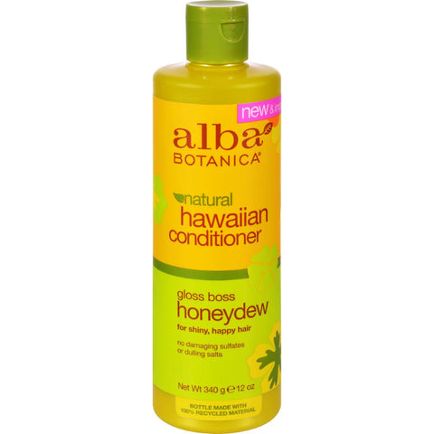 Alba Botanica Hawaiian Hair Conditioner Honeydew - 12 Fl Oz - Humble + Lavi