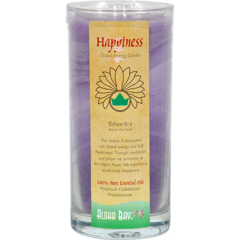 Aloha Bay Chakra Candle Jar Happiness - 11 Oz - Humble + Lavi