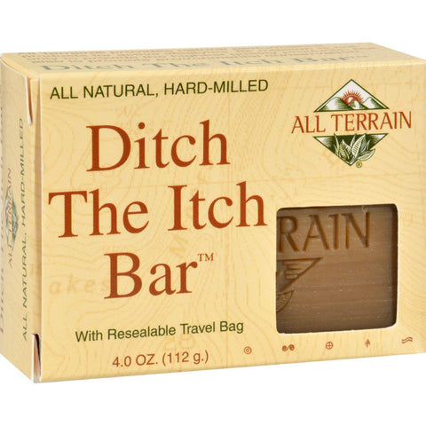 All Terrain Ditch The Itch Bar - 4 Oz - Humble + Lavi