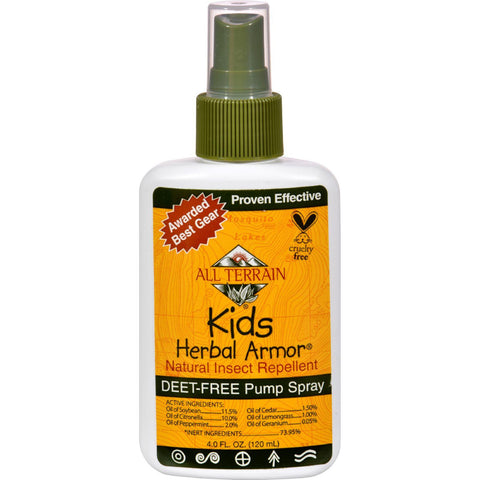 All Terrain Herbal Armor Spray For Kids - 4 Oz - Humble + Lavi