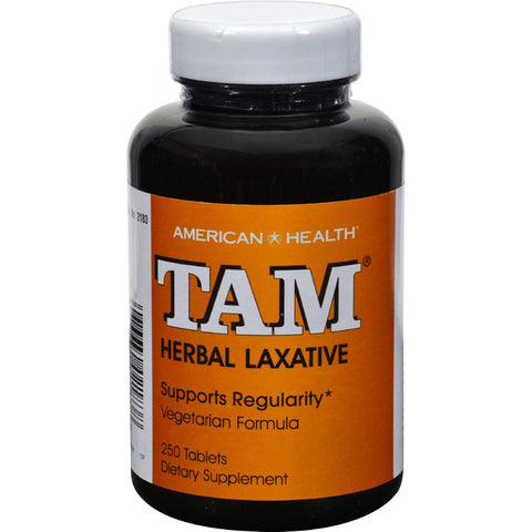 American Health Tam Herbal Laxative - 250 Tablets - Humble + Lavi