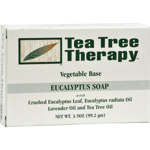 Tea Tree Therapy Eucalyptus Soap Vegetable Base - 3.5 Oz - Humble + Lavi