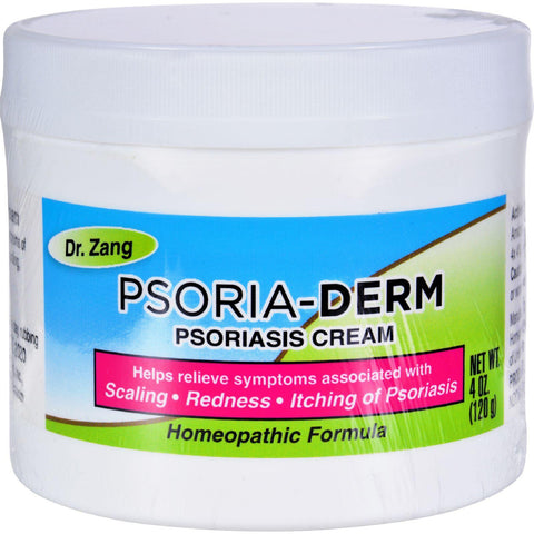Dr. Zang Homeopathic Psoria-derm Cream - 4 Oz - Humble + Lavi