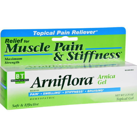 Boericke And Tafel Arniflora Arnica Gel - 2.75 Oz - Humble + Lavi