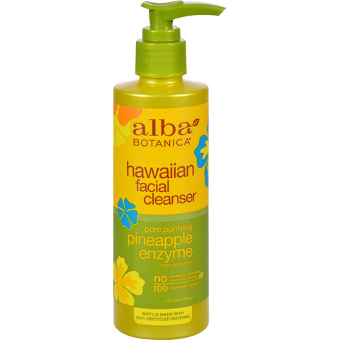 Alba Botanica Enzyme Facial Cleanser Pineapple - 8 Fl Oz - Humble + Lavi
