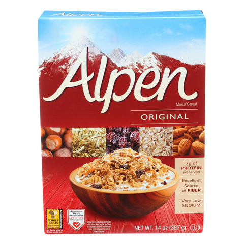 Alpen Original Muesli Cereal - Case Of 12 - 14 Oz. - Humble + Lavi