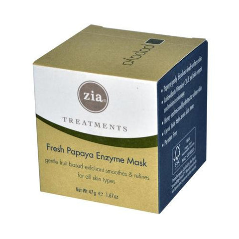 Zia Treatments Enzyme Mask Fresh Papaya - 1.67 Fl Oz - Humble + Lavi