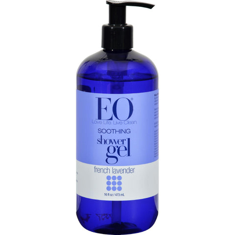 Eo Products Shower Gel Soothing French Lavender - 16 Fl Oz - Humble + Lavi