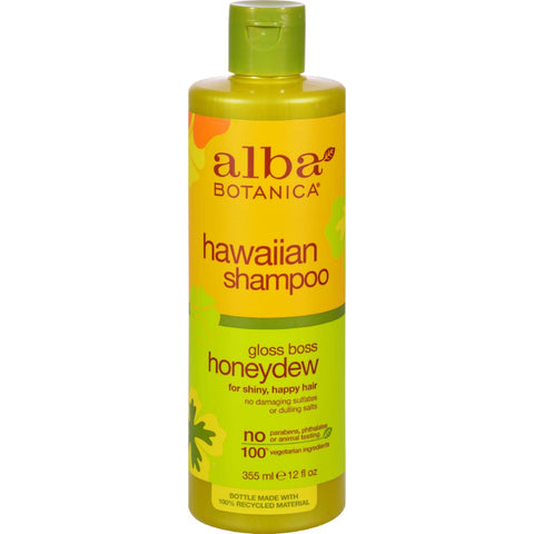 Alba Botanica Hawaiian Hair Wash Honeydew Nourishing - 12 Fl Oz - Humble + Lavi