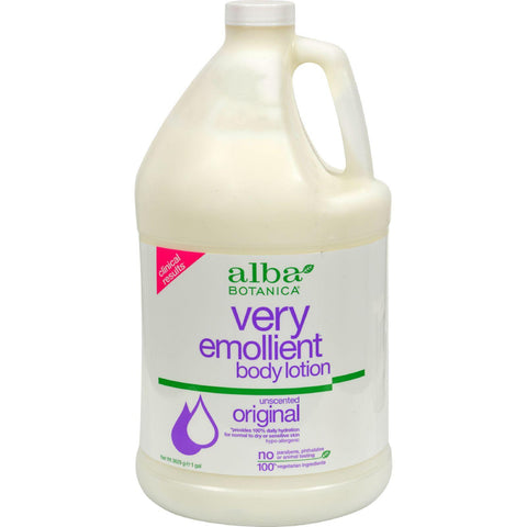 Alba Botanica Very Emollient Body Lotion Original Unscented - 1 Gallon - Humble + Lavi