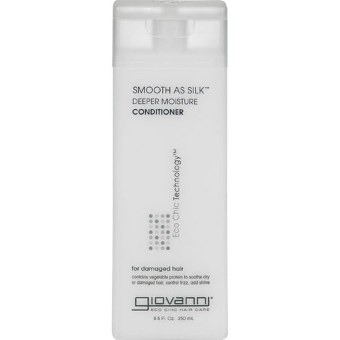 Giovanni Smooth As Silk Deeper Moisture Conditioner - 8.5 Fl Oz - Humble + Lavi
