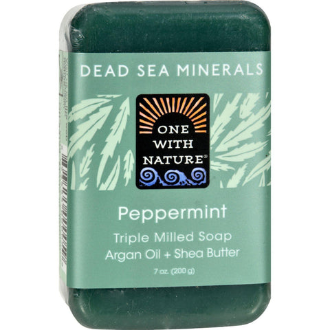 One With Nature Dead Sea Mineral Hemp Soap - 7 Oz - Humble + Lavi