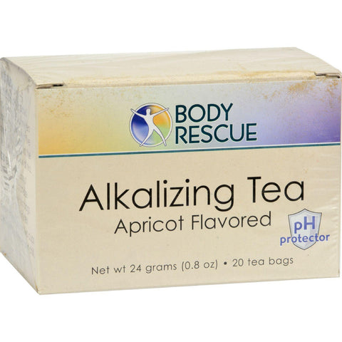Body Rescue Alkalizing Tea - Apricot - 20 Bags - Humble + Lavi