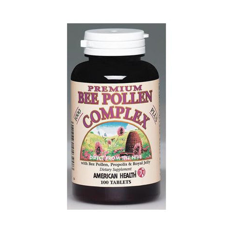 American Health Bee Pollen Complex - 1000 Mg - 100 Tablets - Humble + Lavi