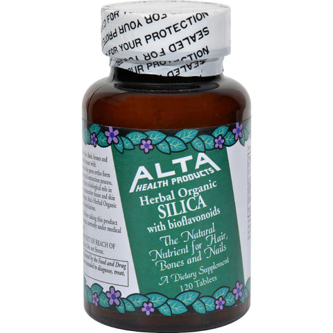 Alta Health Products Silica With Bioflavonoids - 500 Mg - 120 Tablets - Humble + Lavi
