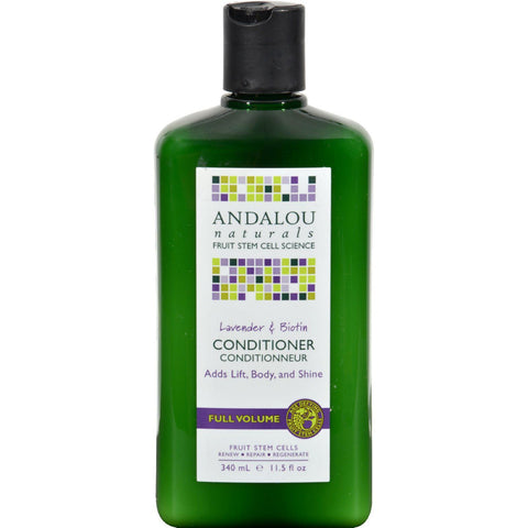 Andalou Naturals Full Volume Conditioner Lavender And Biotin - 11.5 Fl Oz - Humble + Lavi