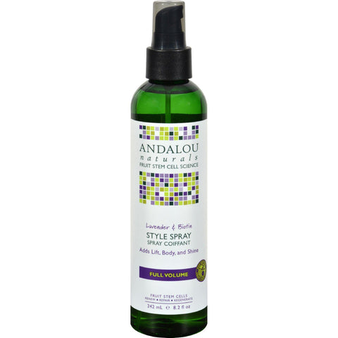 Andalou Naturals Full Volume Style Spray Lavender And Biotin - 8.2 Fl Oz - Humble + Lavi