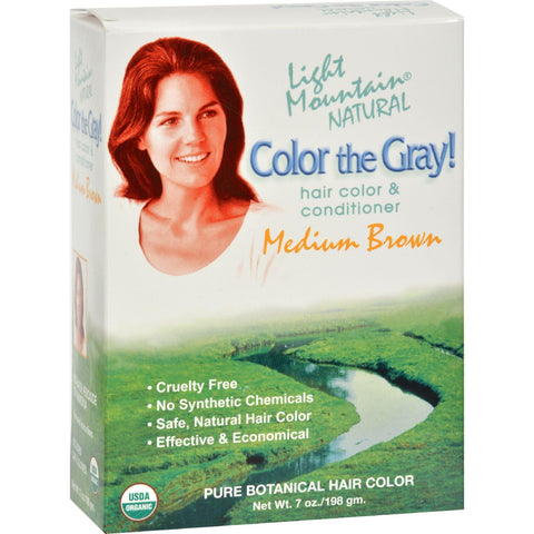 Light Mountain Color Medium Brown - 7 Fl Oz - Humble + Lavi